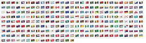 Emoji WhatsApp Flags