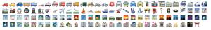 Emoji WhatsApp Travel and Places