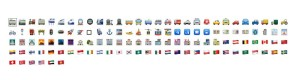 Travel and Places Emoji