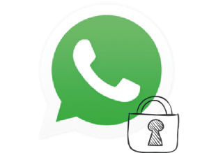 Lock on WhatsApp