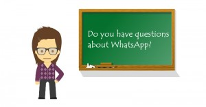 whatsapp questions and answers