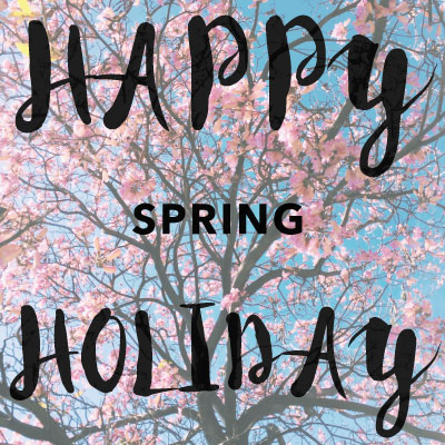 Happy Holiday Spring