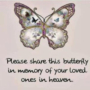 please share this butterfly in memory of your loved ones on haven