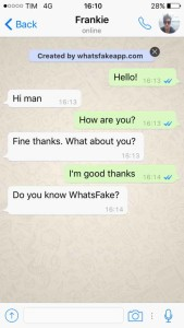 Fake whatsapp conversation pc
