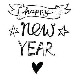 happy new year heart