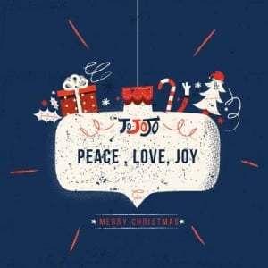 merry christmas place love joy
