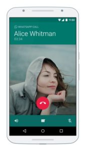 WhatsApp Voice Calls Android