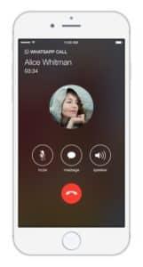 WhatsApp Voice Calls iPhone