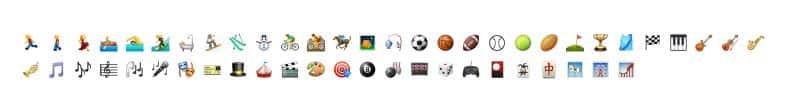 Activity Emoji