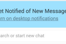 web notification whatsapp