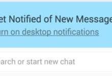 web notification whatsapp