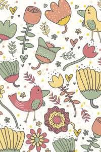 wallpaper whatsapp animal and flower