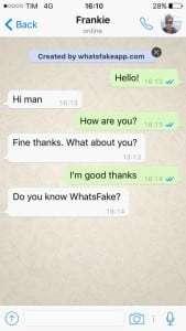 Fake whatsapp conversation pc – Conocimiento de una chica