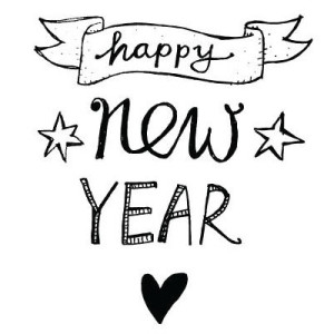 happy new year heart