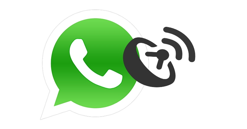 send a fake location on WhatsApp