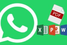 end any file, such as PDF, Zip, Word, PowerPoint and Excel files via WhatsApp