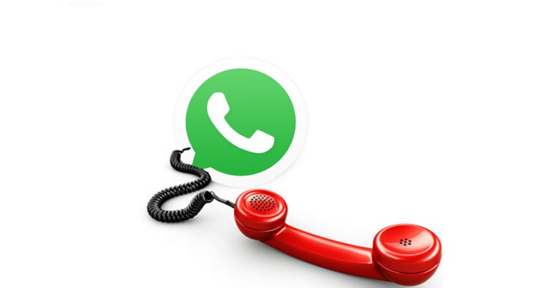 how to make voice call from whatsapp