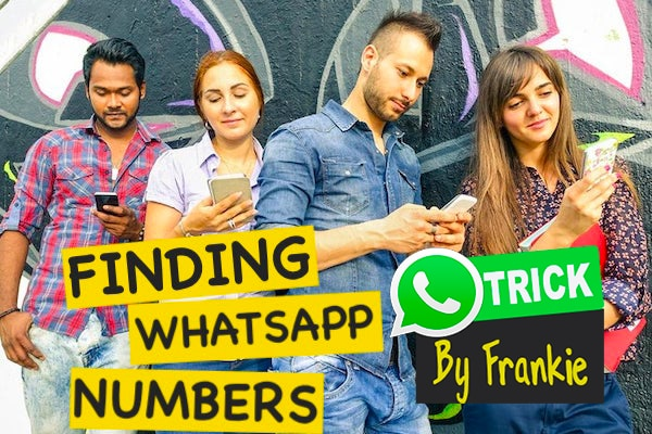 How to find WhatsApp numbers