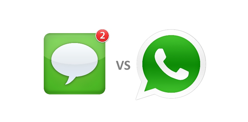 WhatsApp Vs iMessage