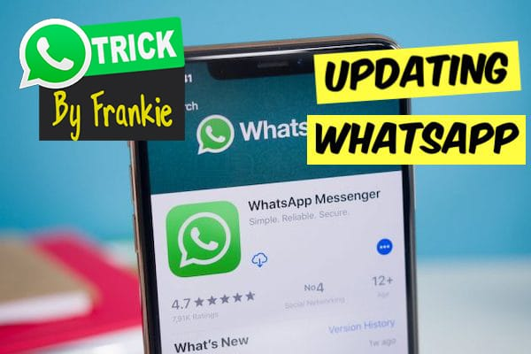Updating WhatsApp to Lastes version