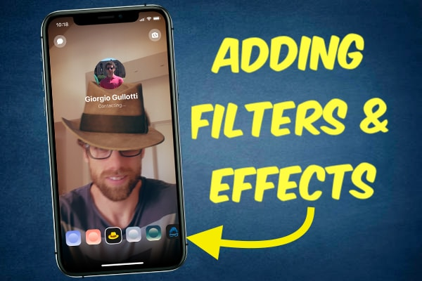 Adding Filters and Effects on Facebook videocalls