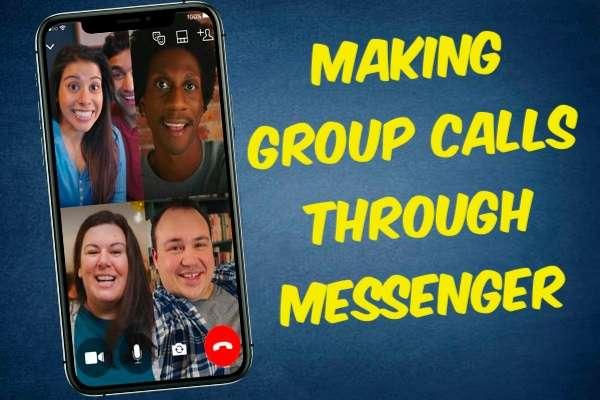 Making Group Calls Through Messenger