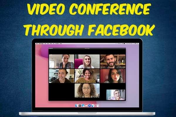 Video Conference Through Facebook
