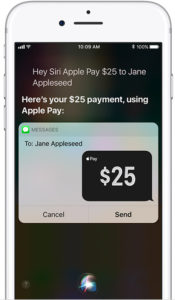 Apple Pay Cash Payment Using Siri