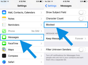 Blocking Someone on iMessage Using iPhone