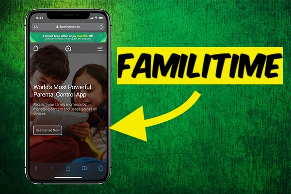 Familytime app Parental Control
