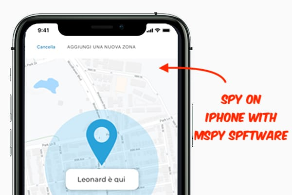 Spy on iPhone with mSpy Software