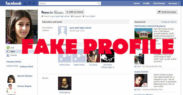 Creating a Fake Facebook Profile