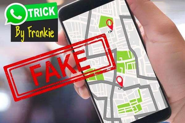 Giving Fake Location Data on WhatsApp