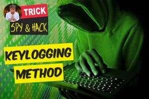 Keylogging Spy method