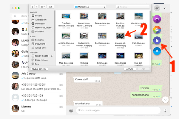 Sending Full Resolution Photos on WhatsApp with Mac or PC