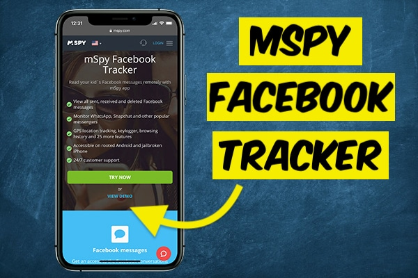 Hack Facebook with mSpy Tracker