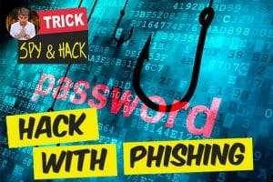 hacking password with phishing method