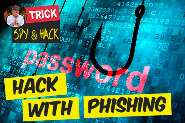 hacking password with phishing method