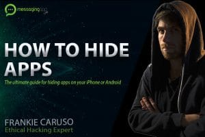how to hide apps on your iPhone or Android