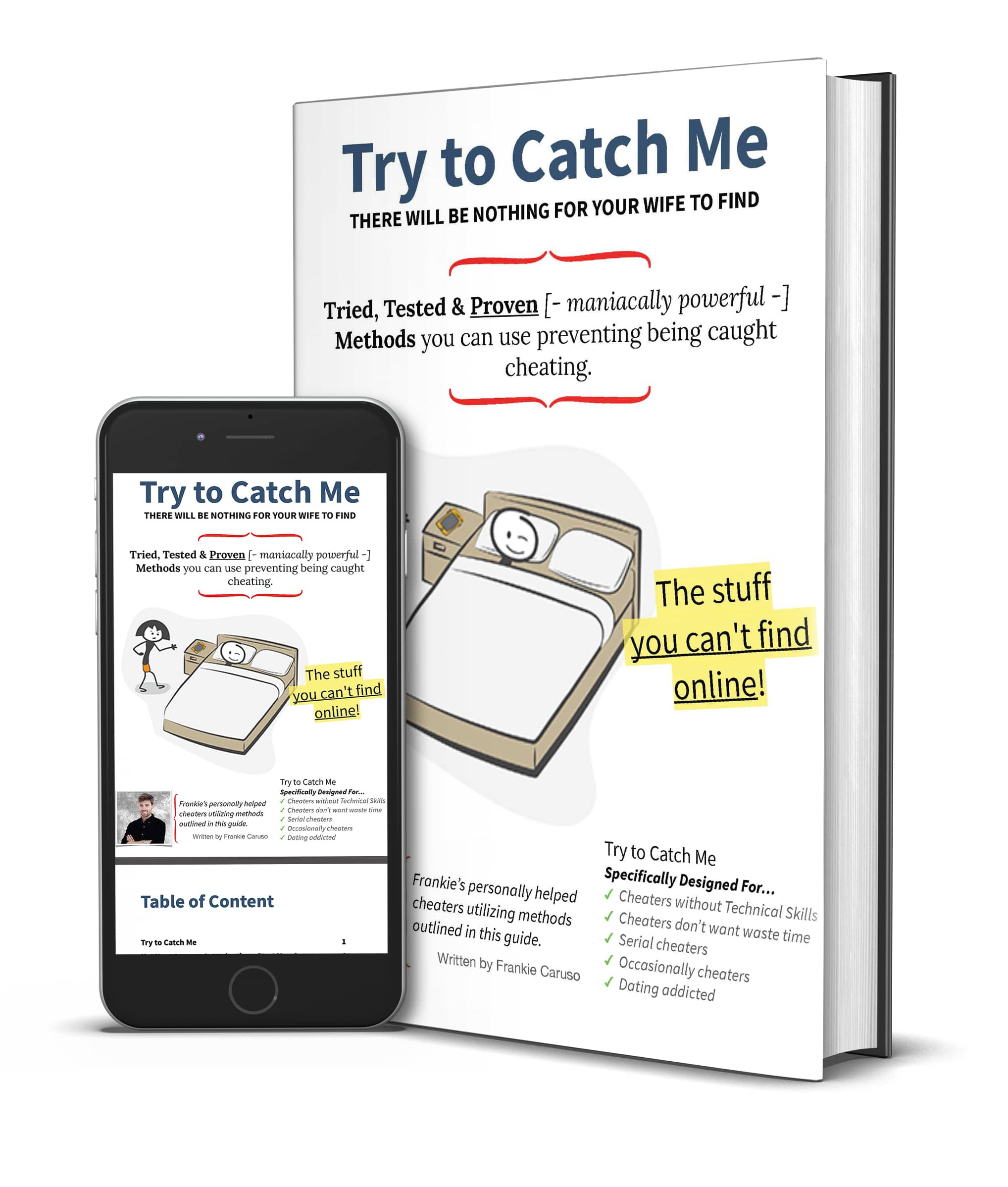 Try to catch me ebook