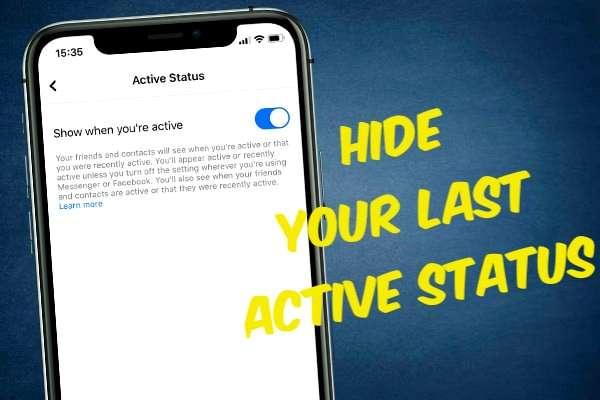 Hiding Your Last Active Status