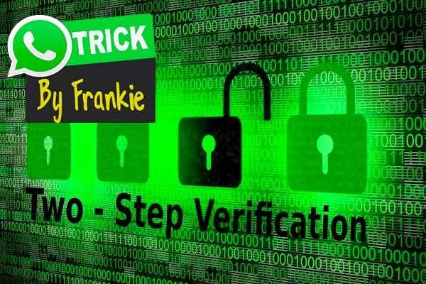 Two-Step Verification WhatsApp