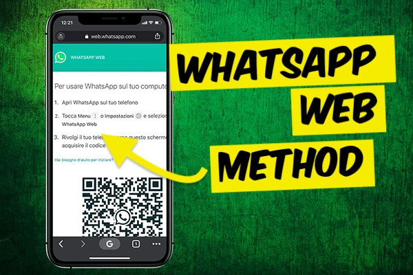 Spying on WhatsApp messages using WhatsApp web
