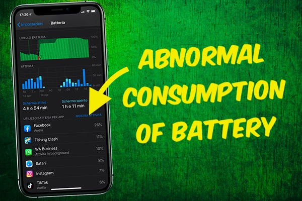 Abnormal Consumption of Battery