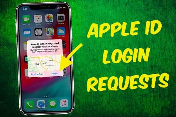 Apple ID Login Requests