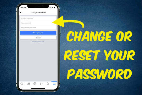 Change or Reset Your Password