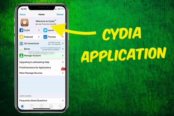 Cydia Application