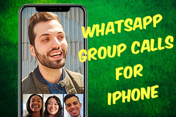 Starting Group Calls in WhatsApp for iPhone