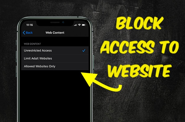 Block Access to Suggestive Websites