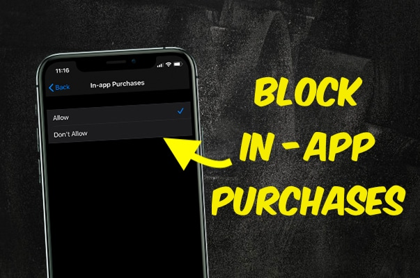 Blocking Purchases on iTunes or App Store